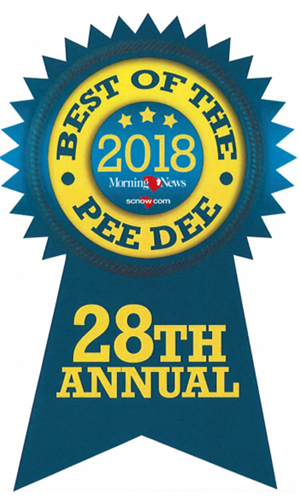 Royall received the Best of the Pee Dee Award for Best Public School and Best Place to Work!