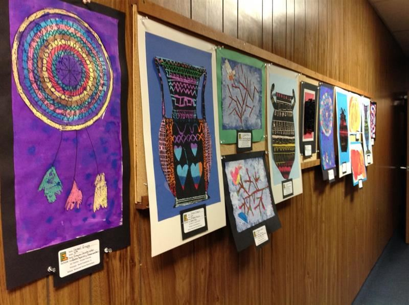 SGE Artists' Work on Display at the District Office