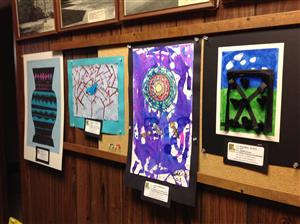 Artwork on display at DO