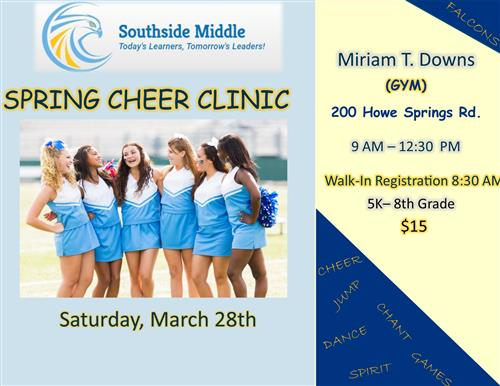 Spring Cheer Clinic