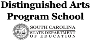 Distinguished Arts Program School Logo