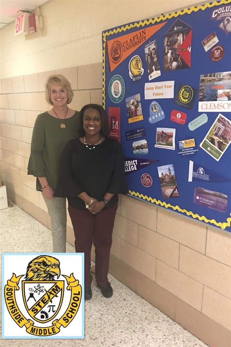 Southside School Counselors - Mrs. Osborne and Mrs. Smith