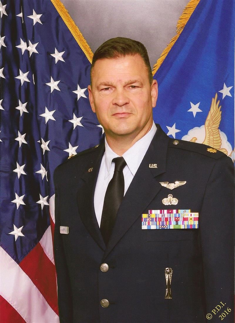 "Major Walter ""Rhett"" Anderson, U.S. Air Force (Retired)"