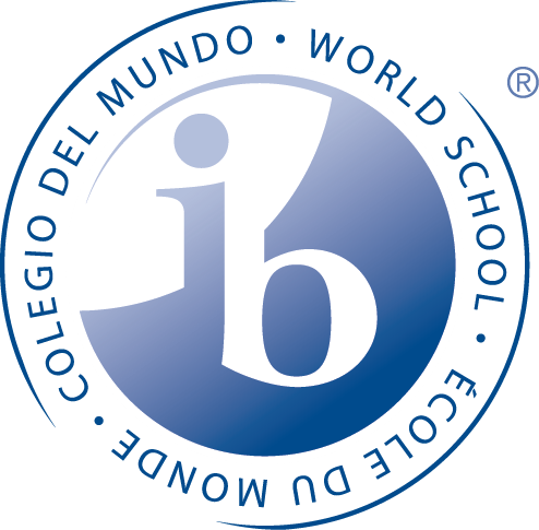 A blue International Baccalaureate logo