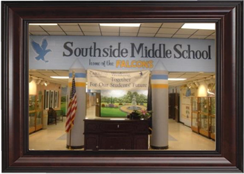 Southside Middle School Lobby