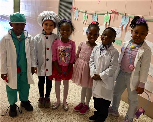doctors, chef, and ballerinas