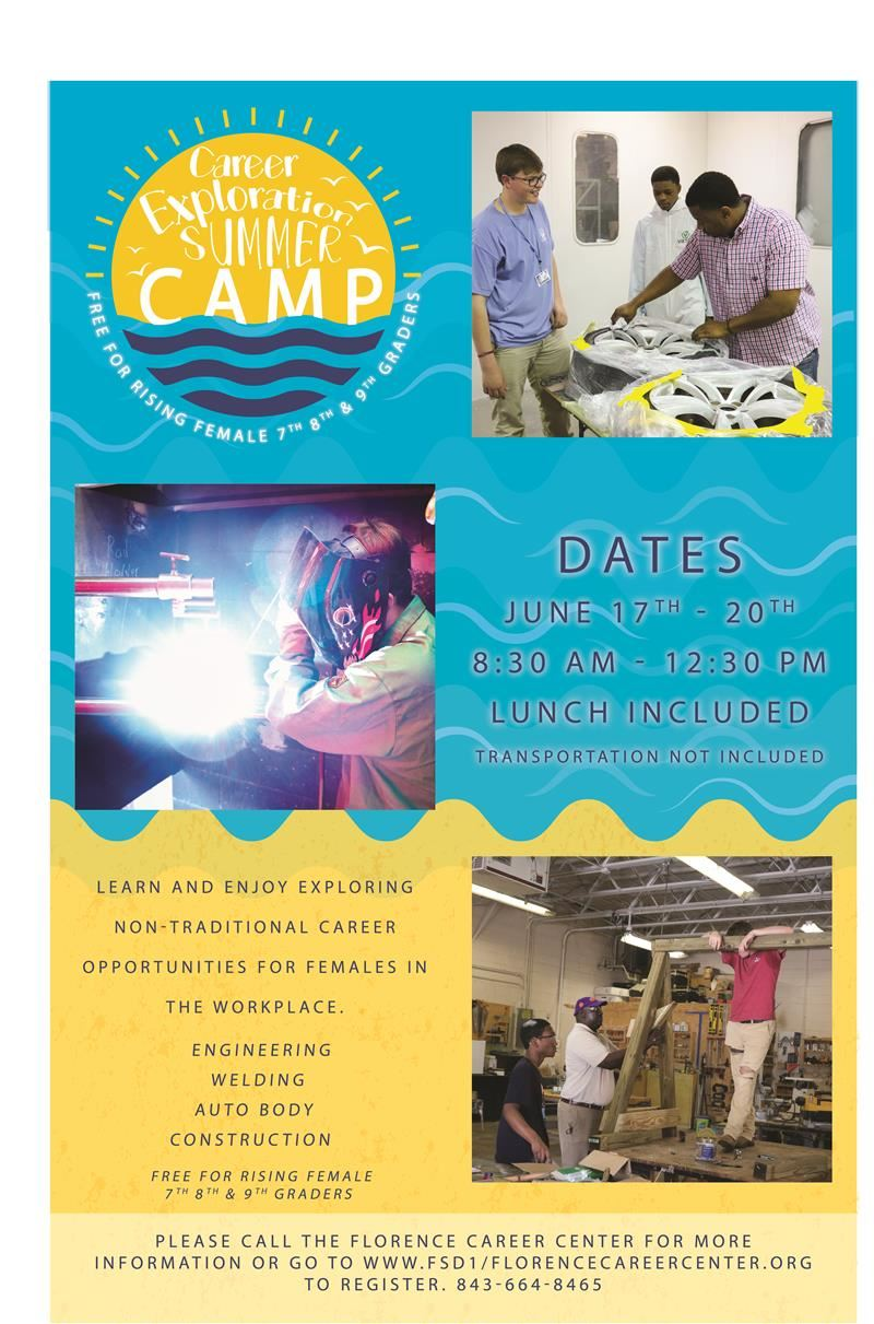 Career Exploration Camp Registration Form