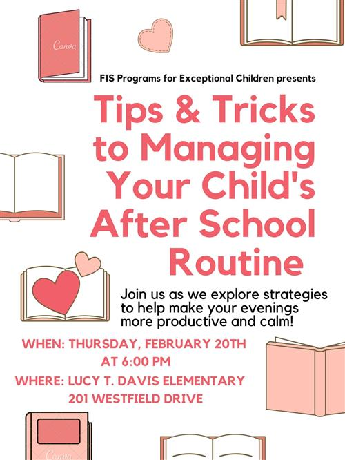 Tips & Tricks to Managing Your Child's After School Routine