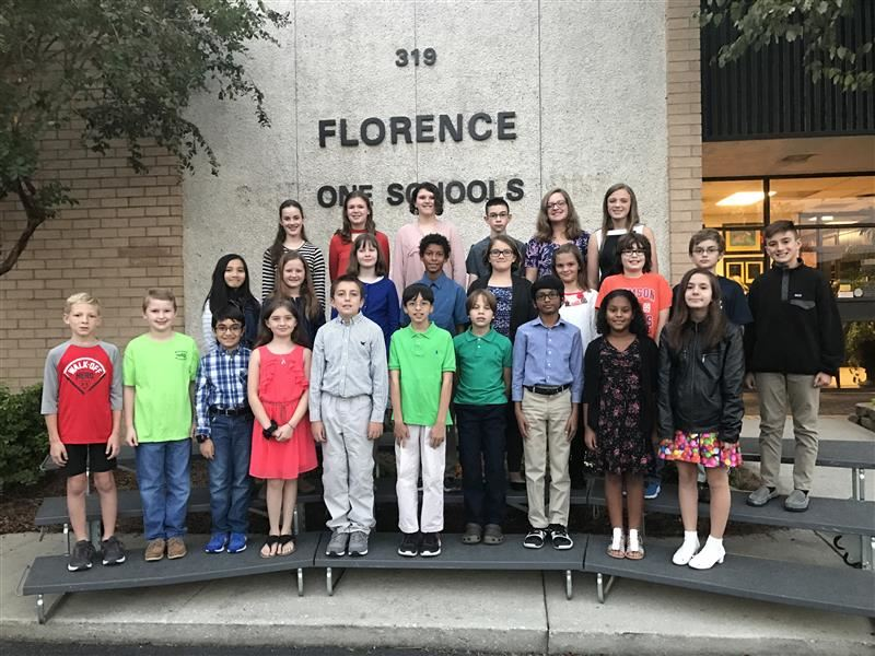 Students Recognized for Perfect Scores on South Carolina Standardized Tests